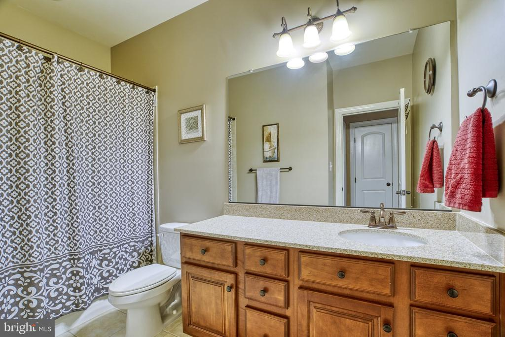 Large hall bath - 24955 EARLSFORD DRIVE, CHANTILLY