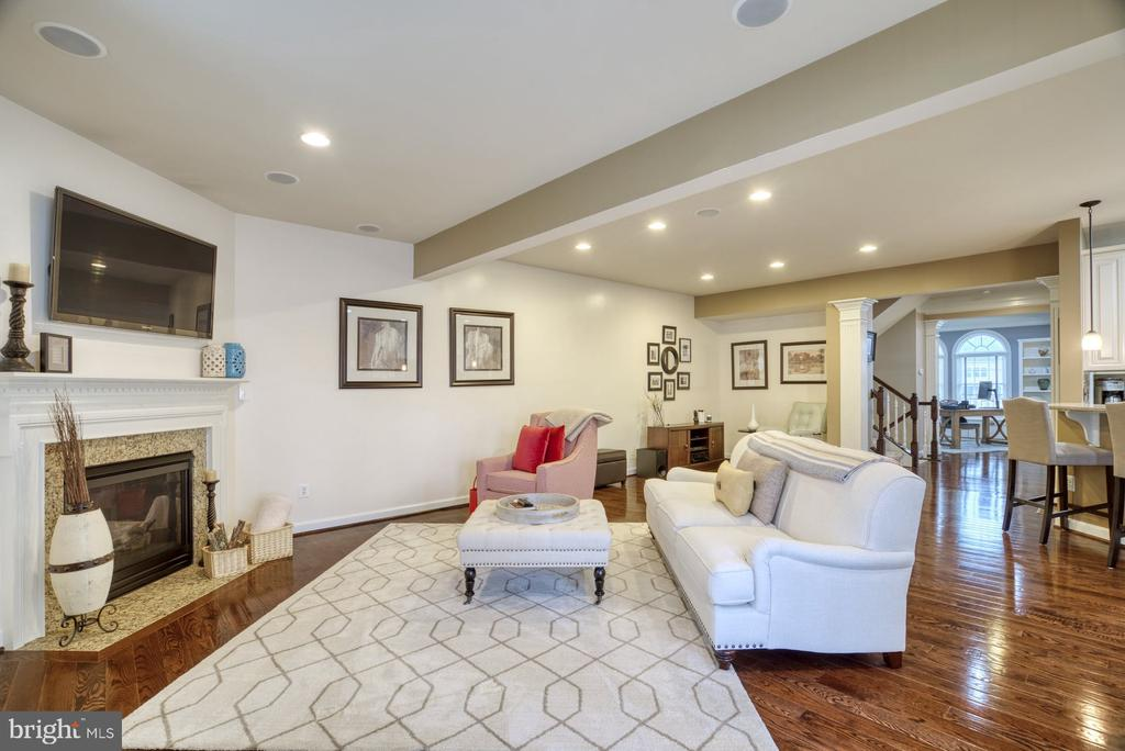 Family Room - 24955 EARLSFORD DRIVE, CHANTILLY