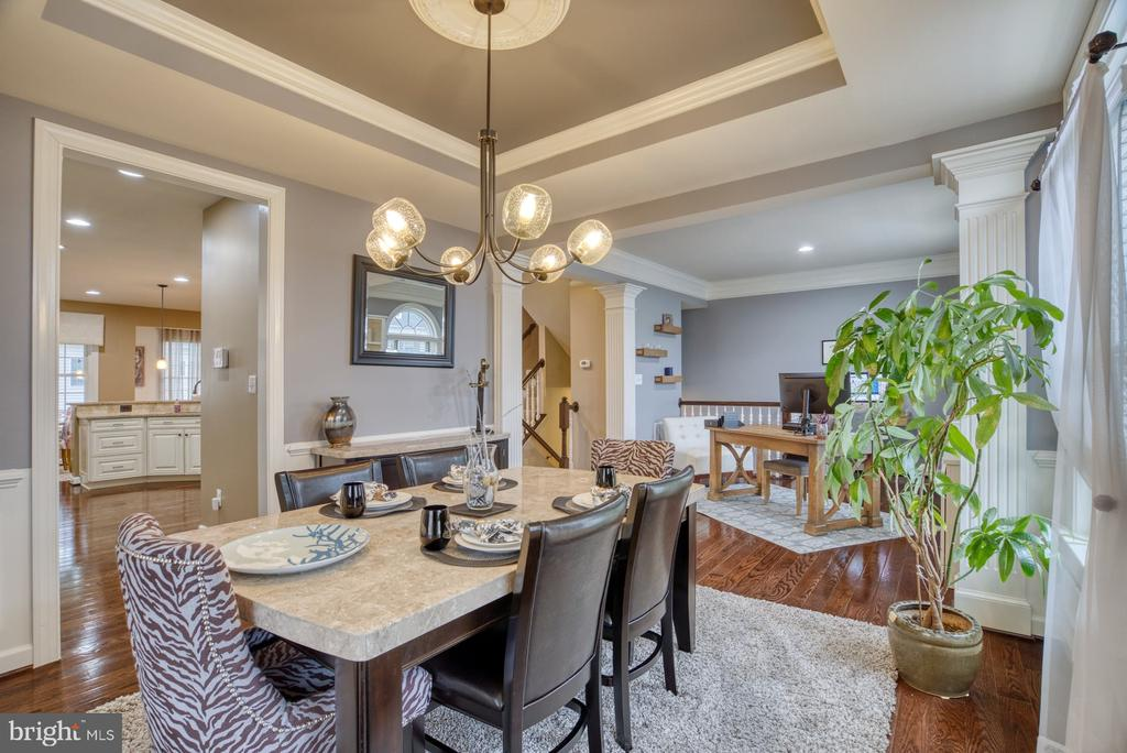 Dining room - 24955 EARLSFORD DRIVE, CHANTILLY