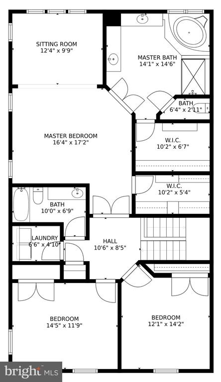 Upper Level Floorpan - 24955 EARLSFORD DRIVE, CHANTILLY