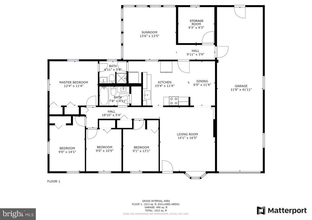Floorplan - 221 W ASH RD, STERLING