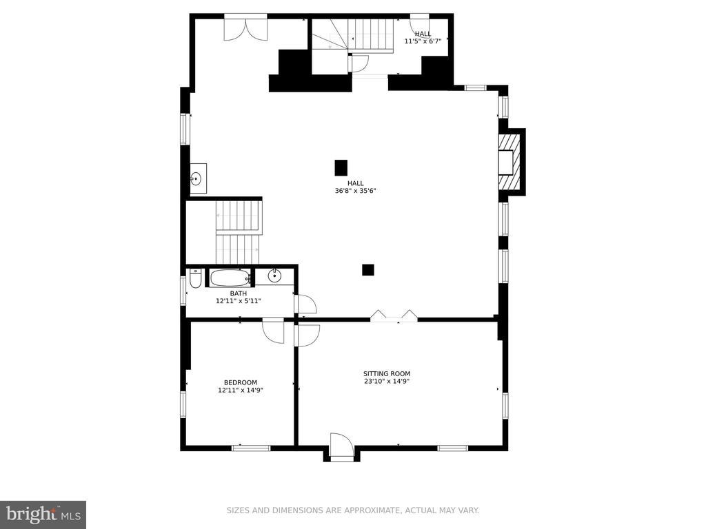 Floor Plan - Upper Level 1 - 2308 TRACY PL NW, WASHINGTON