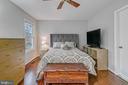 Primary bedroom - 2913-B S WOODSTOCK ST #2, ARLINGTON