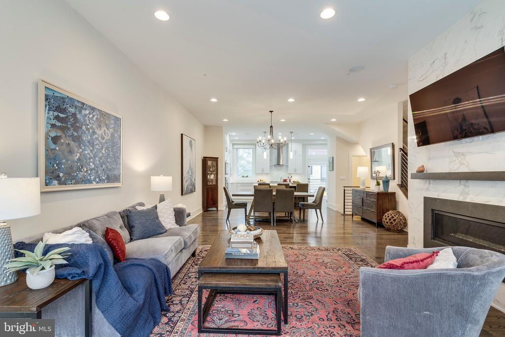 View of Expansive Main Living Space - 171 WINSOME CIR, BETHESDA