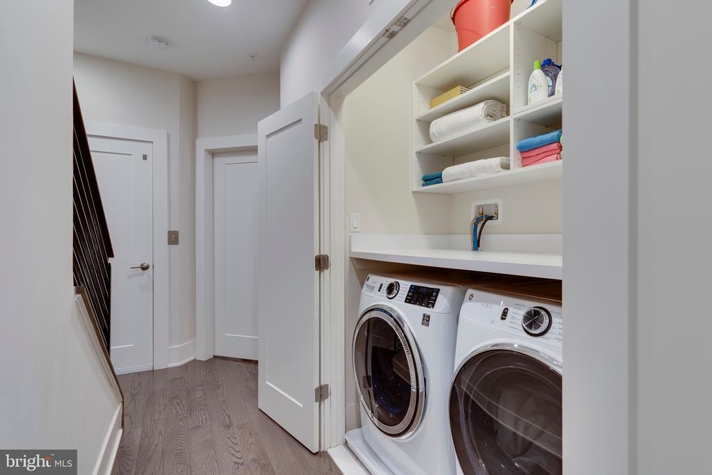 Bedroom Level Laundry Room - 171 WINSOME CIR, BETHESDA