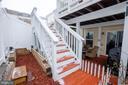 Patio with Deck Stairs - 22462 FAITH TER, ASHBURN
