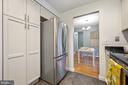 Pantry area in kitchen - 2971 S COLUMBUS ST #A1, ARLINGTON