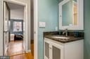 Frlshl painted bathroom - 2971 S COLUMBUS ST #A1, ARLINGTON