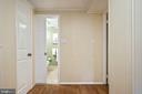 Hallway in lower level - 2971 S COLUMBUS ST #A1, ARLINGTON