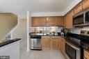 Maple cabinets and stainless steel appliances - 2810 S MEADE ST, ARLINGTON