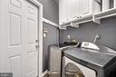 Main level laundry room - 20757 PARKSIDE CIR, STERLING