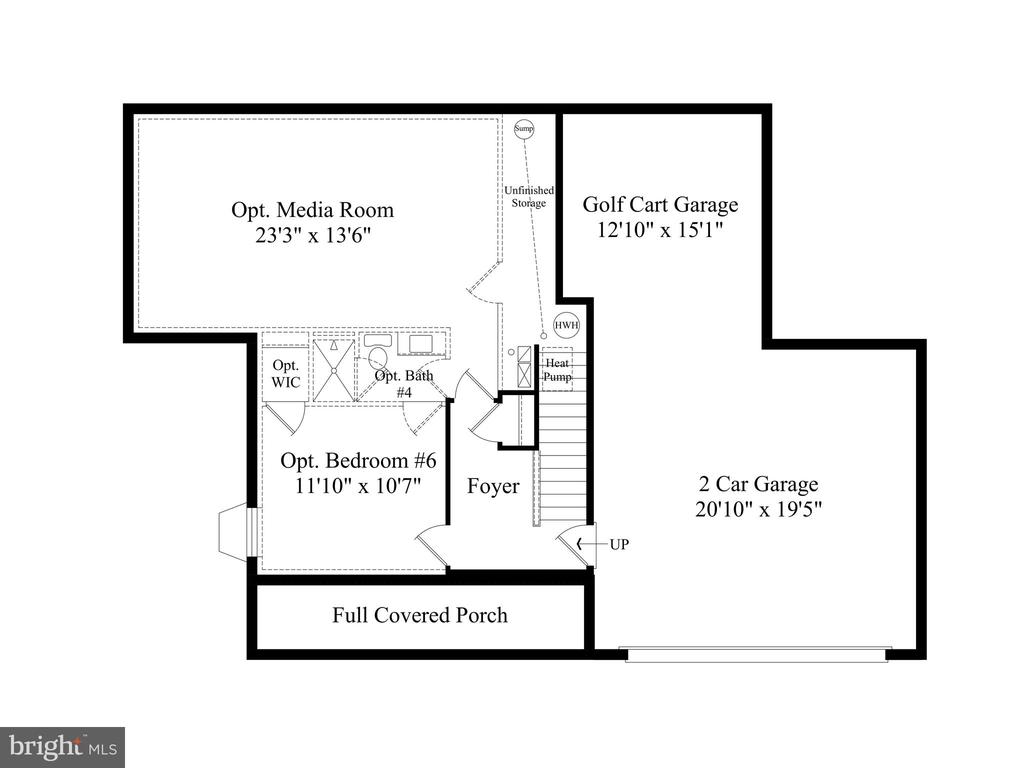 Lowe Level Floor Plan - 6604 ACCIPITER DR, NEW MARKET