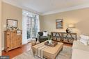Warm Living Room Great For Intimate Gathering! - 425 PARK AVE, FALLS CHURCH