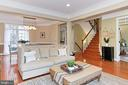 Main Floor Living Space w/Easy Access to Any Floor - 425 PARK AVE, FALLS CHURCH