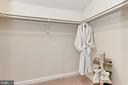 In-Law Suite Walk-In Closet - 425 PARK AVE, FALLS CHURCH