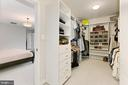Spacious Walk-In Closet / Changing Room - 425 PARK AVE, FALLS CHURCH