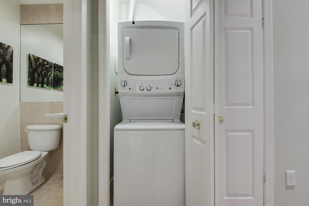 Laundry Room w/ Newly Installed Dryer Vent! - 1610 BELMONT ST NW #D, WASHINGTON