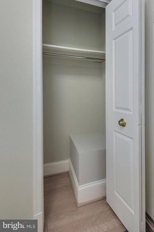 Foyer Coat Closet! Who Doesn't Love More Closets?! - 1610 BELMONT ST NW #D, WASHINGTON