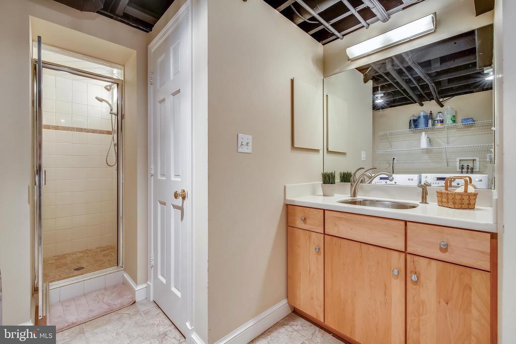 Lower Level Bathroom - 1515 LIVE OAK DR, SILVER SPRING
