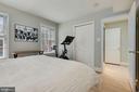 Bedroom #2 - Upgraded Custom Closet! - 1610 BELMONT ST NW #D, WASHINGTON