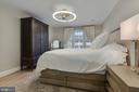 Primary Bedroom - Large Triple Window - Great Sun! - 1610 BELMONT ST NW #D, WASHINGTON