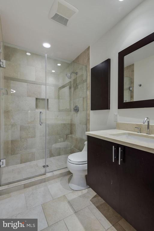 Primary Bathroom - Beautifully Appointed! - 1610 BELMONT ST NW #D, WASHINGTON
