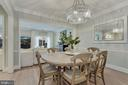 This Dining Room Was MADE to Entertain Fam/Friends - 1610 BELMONT ST NW #D, WASHINGTON