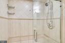 Lower Level Full Bath w/Walk-In Spa Shower - 3052 S ABINGDON ST #A2, ARLINGTON