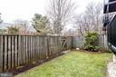 Exterior Fenced Yard - 3052 S ABINGDON ST #A2, ARLINGTON