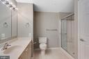 Primary bathroom-separate shower - 19365 CYPRESS RIDGE TER #1108, LEESBURG