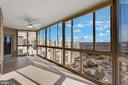 AMAZING view-200 sq ft sunroom! - 19365 CYPRESS RIDGE TER #1108, LEESBURG