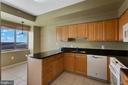 Kitchen-view from doorway - 19365 CYPRESS RIDGE TER #1108, LEESBURG