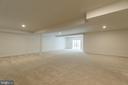 huge rec room - 103 OLD OAKS CT, STAFFORD
