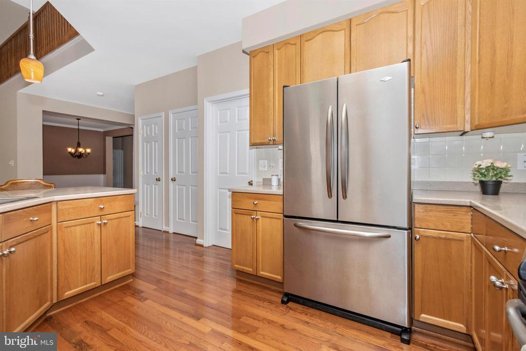 Kitchen connects to laundry/mud room, basement - 2 MAE WAY, THURMONT