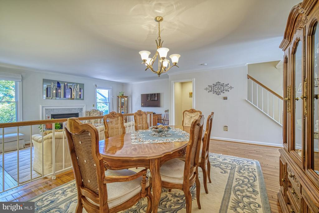 Dining Room - 10161 TURNBERRY PL, OAKTON
