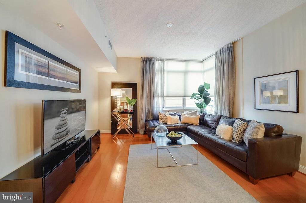 Large Living Room - 1020 N HIGHLAND ST #215, ARLINGTON