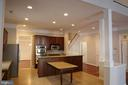 Kitchen area, viewed from Family Room - 3705 GLEN EAGLES DR, SILVER SPRING