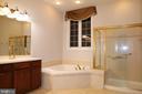 Owner's suite full bath - 3705 GLEN EAGLES DR, SILVER SPRING