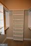 1 of 2 walk-in closets, Owner's bedroom - 3705 GLEN EAGLES DR, SILVER SPRING