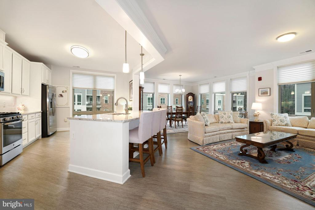 Talk About a Fantastic Open Concept Floor Plan! - 6107 FAIRVIEW FARM DR #403, ALEXANDRIA