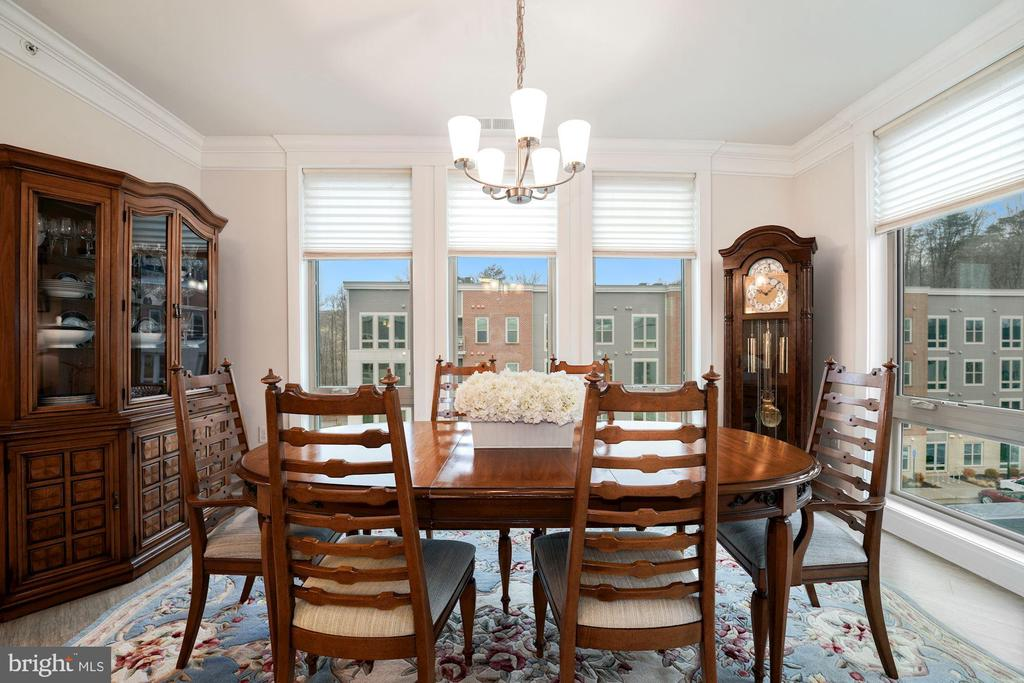 Dining Room is Very Generously Sized! - 6107 FAIRVIEW FARM DR #403, ALEXANDRIA