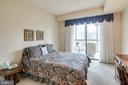 Second bedroom, walks out to porch - 3100 N LEISURE WORLD BLVD #203, SILVER SPRING