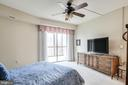 Relaxing view from bedroom - 3100 N LEISURE WORLD BLVD #203, SILVER SPRING
