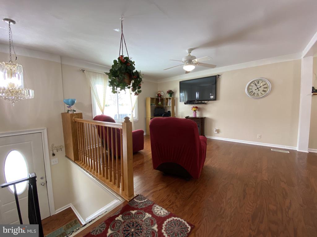 603 W Poplar Road Living Room w New Flooring - 603 W POPLAR RD, STERLING