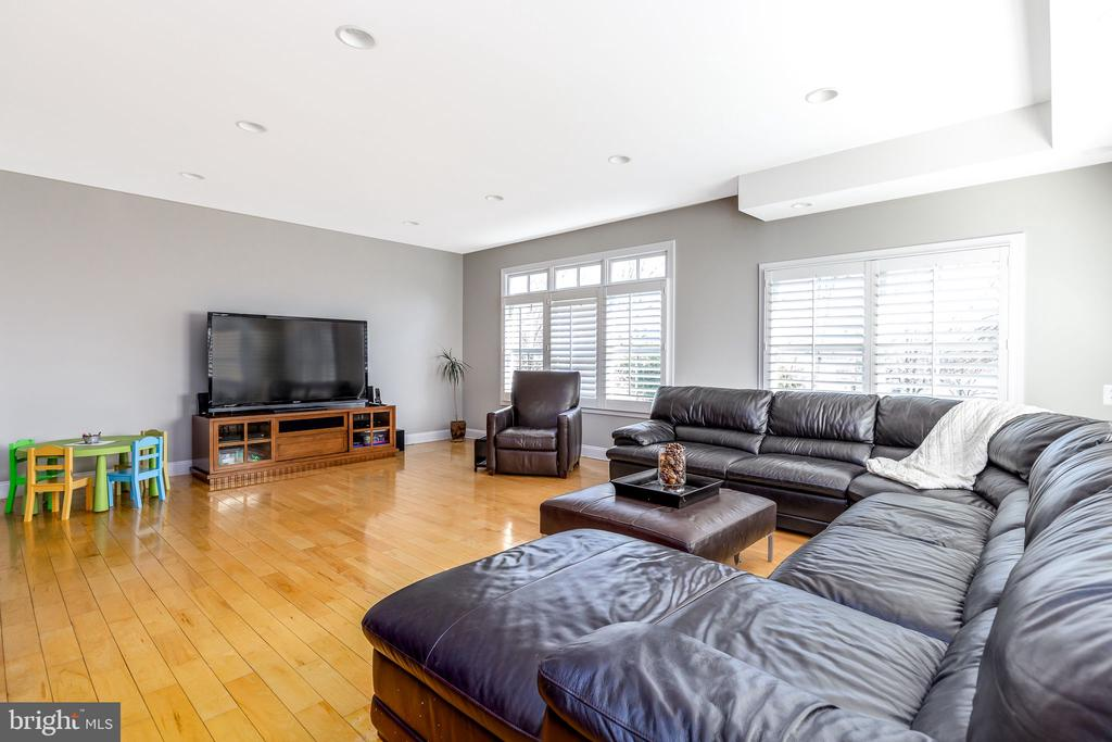 Large open and bright family room - 9941 CORSICA ST, VIENNA