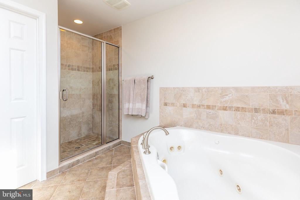 Separate shower and jacuzzi tub - 9941 CORSICA ST, VIENNA
