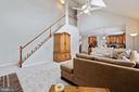 Convenient 2nd staircase to upper level - 20004 HAZELTINE PL, ASHBURN