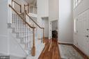 Foyer flows into Spacious Living Room w/New Carpet - 20004 HAZELTINE PL, ASHBURN