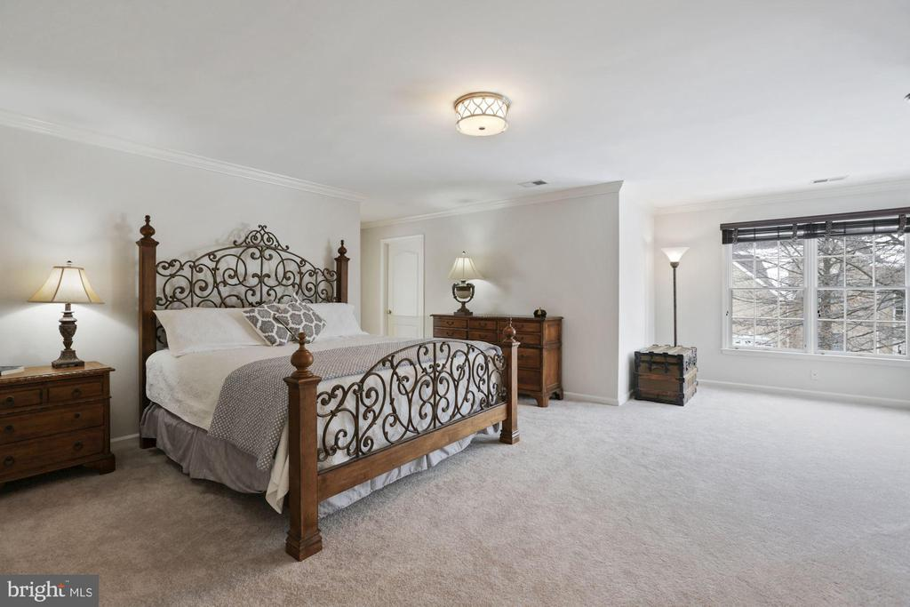 Incredible Master Bedroom is Bright and Spacious - 20004 HAZELTINE PL, ASHBURN