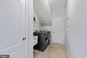 Mudroom/Laundry Room on Main Level leads to Garage - 20004 HAZELTINE PL, ASHBURN